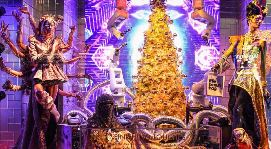 Zobacz świąteczny show robotów ABB