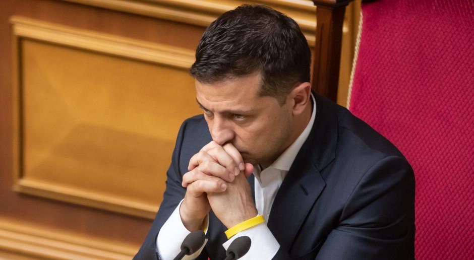 Ukraina: Zełenski: Będziemy zajmować się powrotem Saakaszwilego na Ukrainę