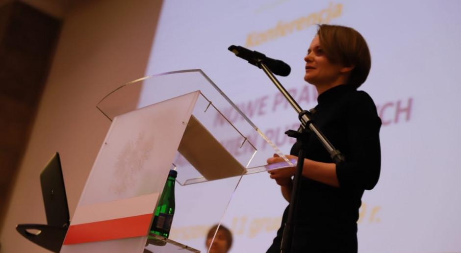 Emilewicz: zamówienia publiczne to ok. 9 proc. polskiego PKB