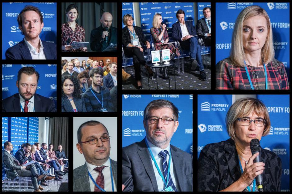 """Sesja inauguracyjna Property Forum Wrocław """"#10years challenge na rynku nieruchomości. Jak zmieniła się rola dewelopera"""". Fot. PTWP"""
