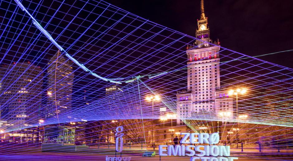 Instalacja Innogy pokaże poziom smogu w Warszawie
