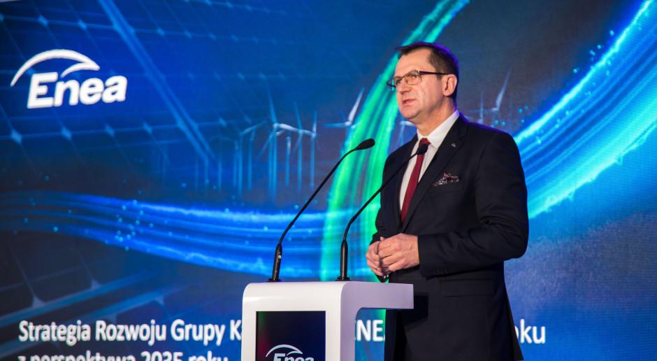 Enea: więcej energii z OZE i gazu, spadek mocy konwencjonalnych