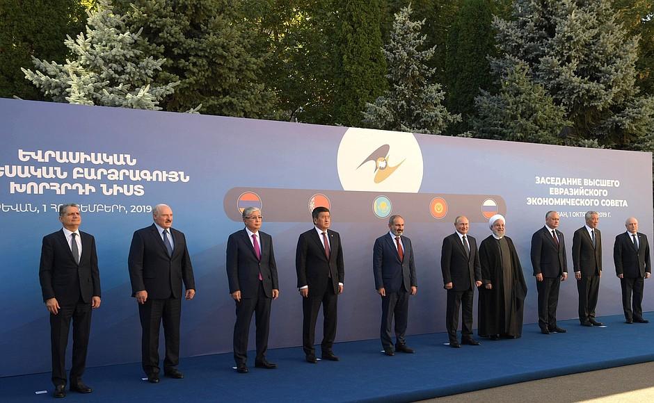 Zasady funkcjonowania EAEU nie są bowiem kompatybilne z regułami wolnego handlu. Fot. kremlin.ru