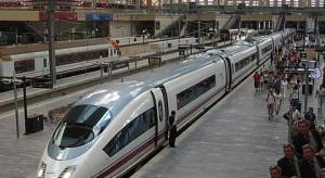 Kolejarze w Hiszpanii strajkowali, bo rząd nie chce prywatyzować kolei państwowych