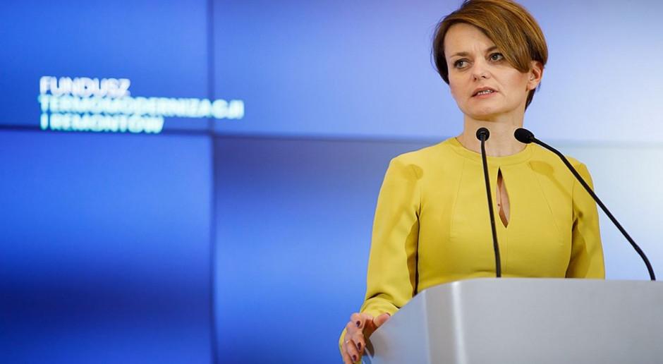 Jadwiga Emilewicz: atom elementem scenariuszy transformacji polskiej gospodarki, ale nie jedynym
