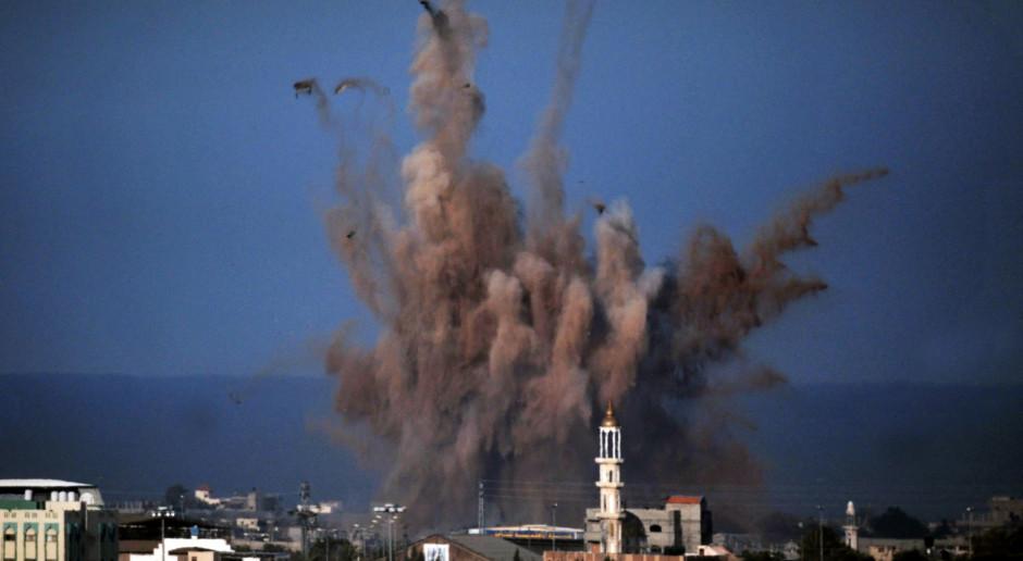 Palestyński ostrzał rakietowy Izraela i izraelski atak na Strefę Gazy