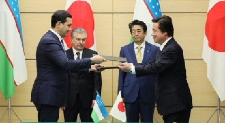 Nowe otwarcie w japońsko-uzbeckich stosunkach