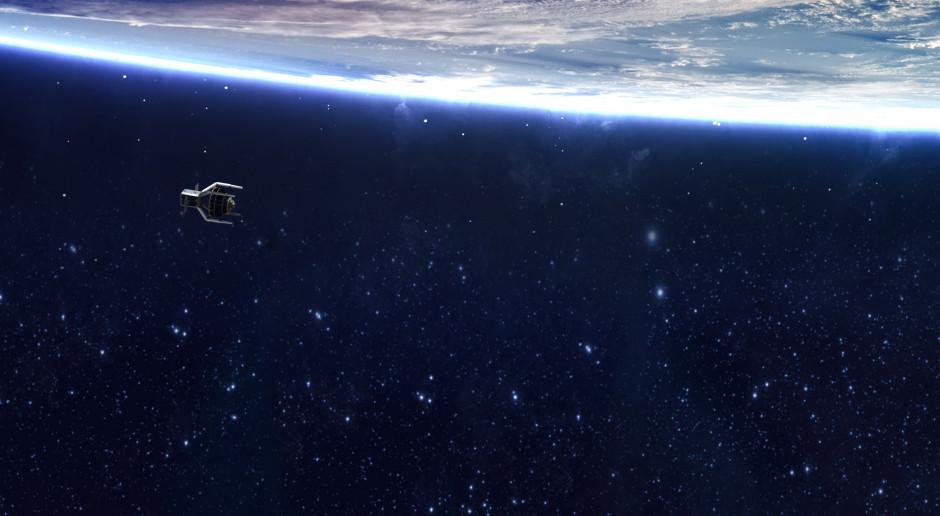 """Pierwsza """"kosmiczna śmieciarka"""" poleci na orbitę w 2025 roku"""
