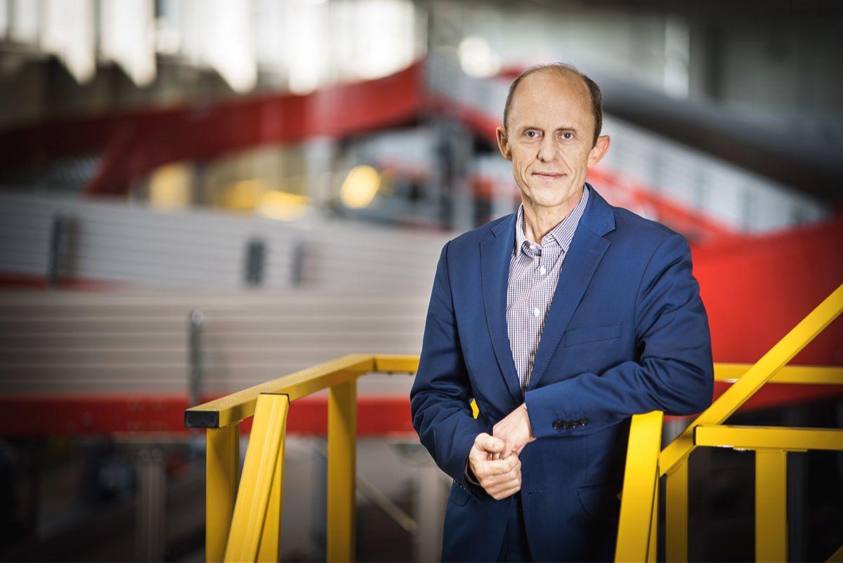 Tomasz Buraś, prezes DHL Express, fot. mat. prasowe