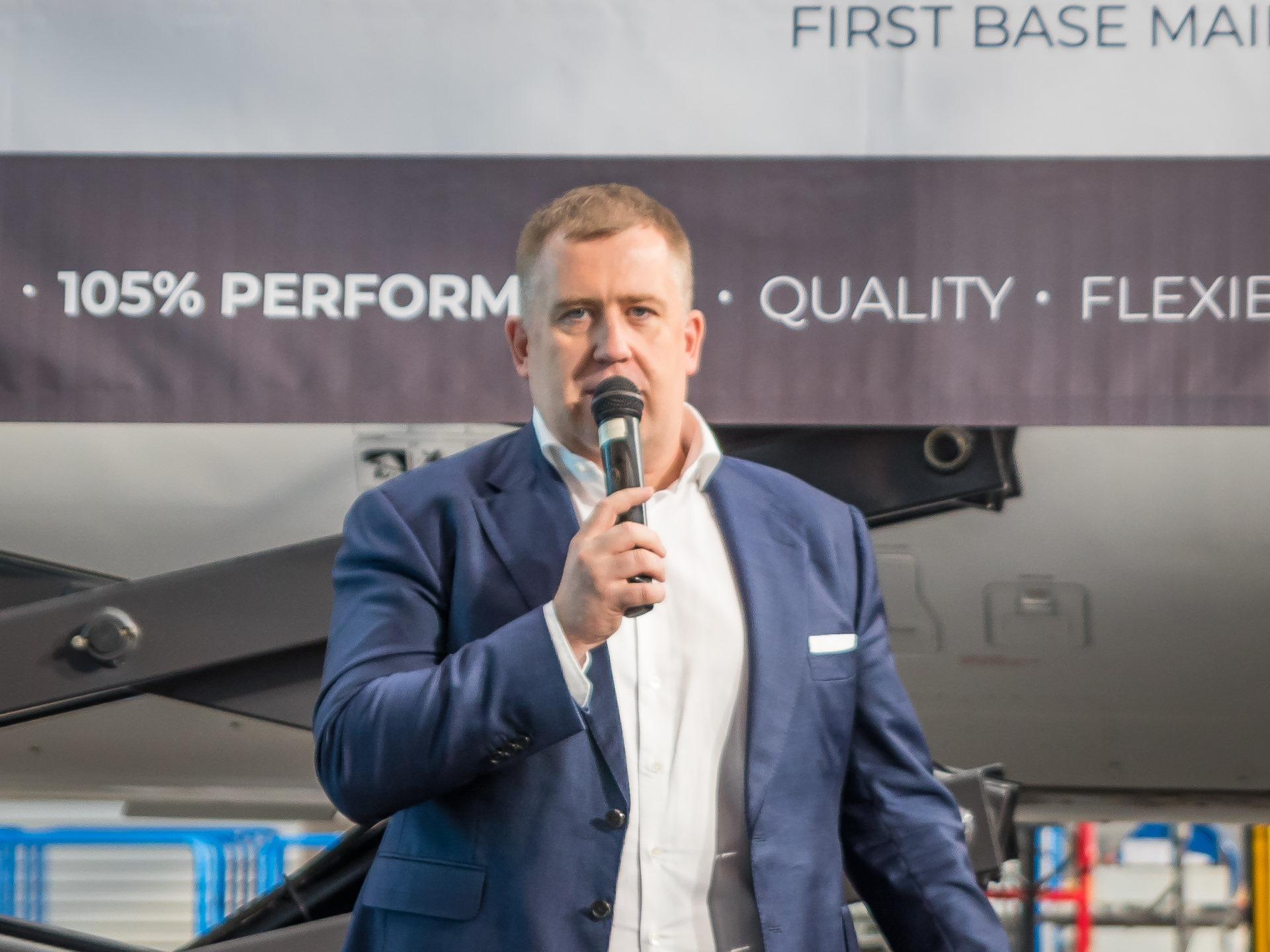 Piotr Kaczor, prezes Grupy Avia Prime, fot. mat. prasowe