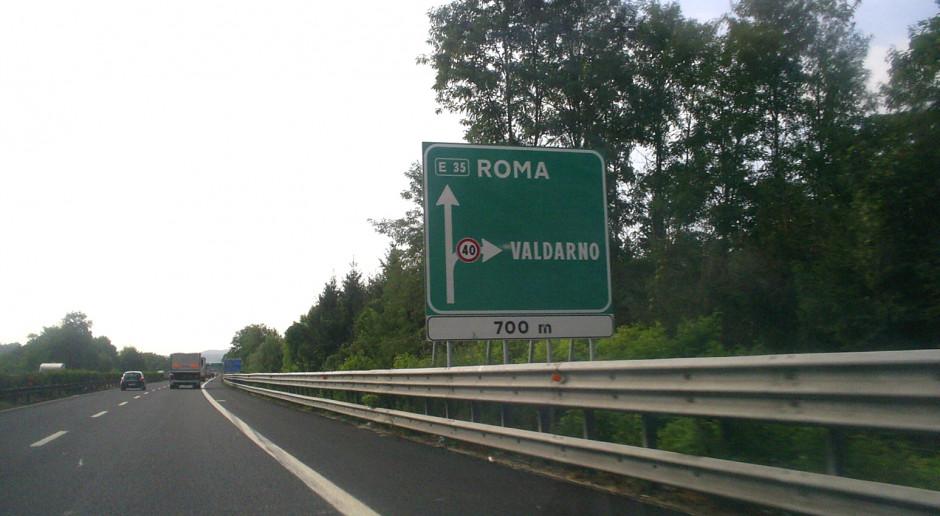 Podwyżki opłat za przejazdy włoskimi autostradami, tak ale jeszcze nie teraz