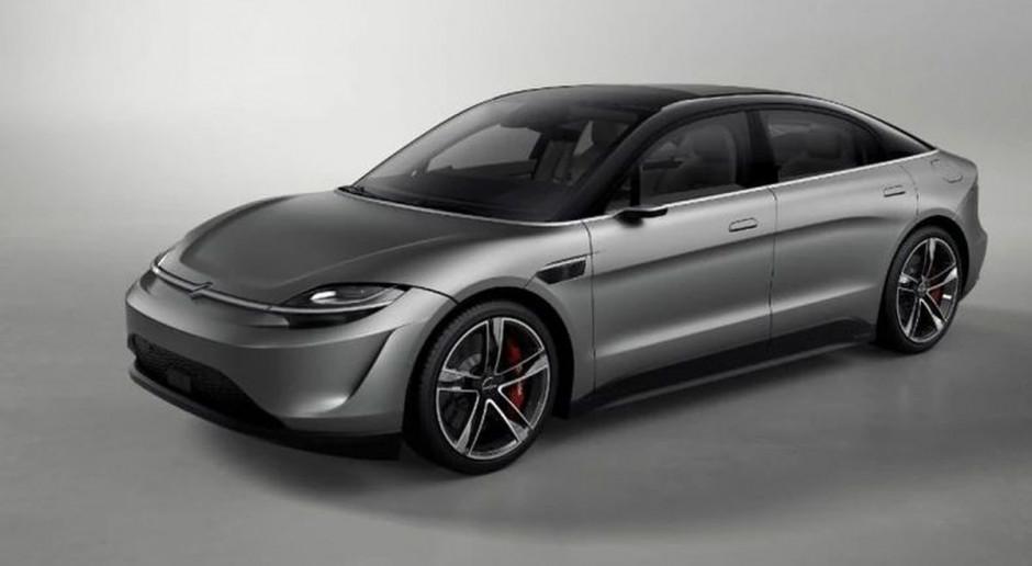 Sony pokazało elektryczny samochód autonomiczny