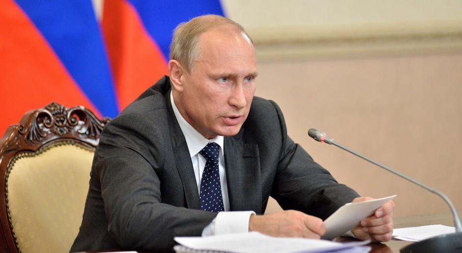 Putin: flota Rosji ma być w 70 proc. wyposażona w nowoczesne uzbrojenie