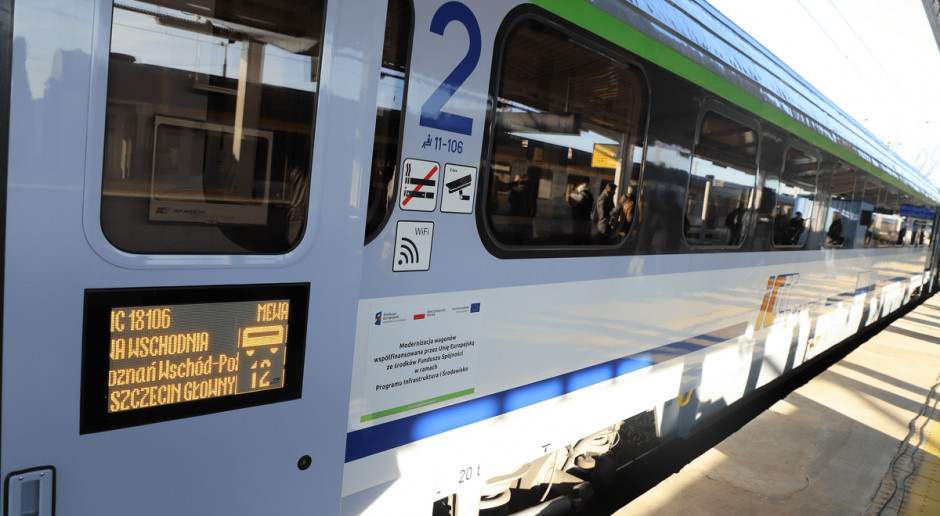 Zmodernizowane wagony PKP Intercity już na torach. Pół roku przed terminem