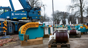Do Łodzi docierają elementy 650-tonowej maszyny do drążenia tunelu średnicowego