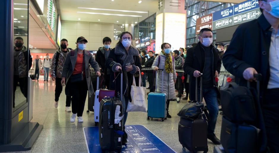 Koronawirus stopuje chińską produkcję