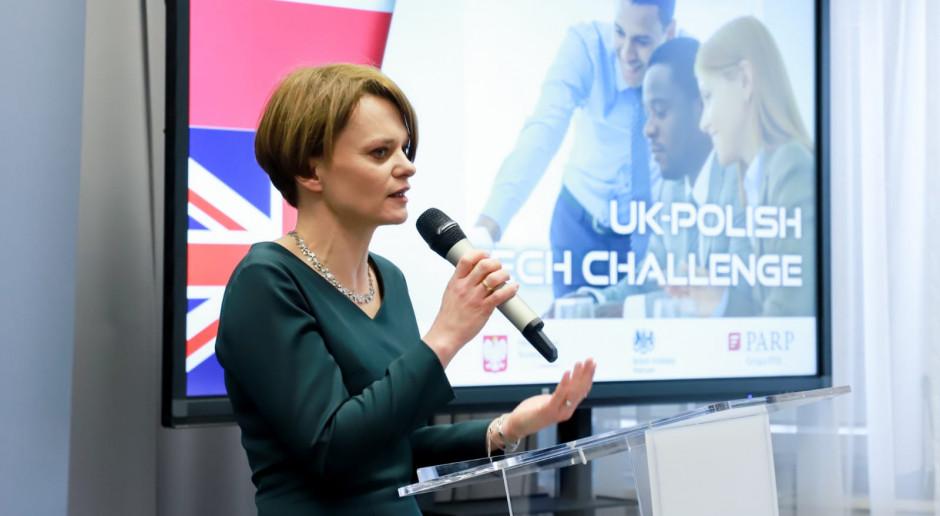Emilewicz o obawach związanych z brexitem: zachęcam firmy do kontaktu z resortem rozwoju