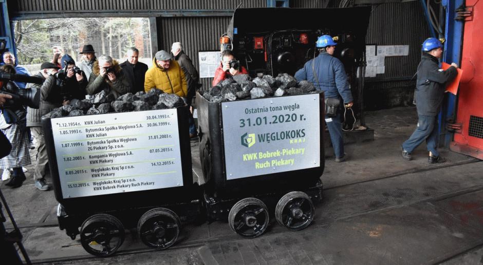 Po 65 latach kopalnia Piekary zakończyła wydobycie węgla