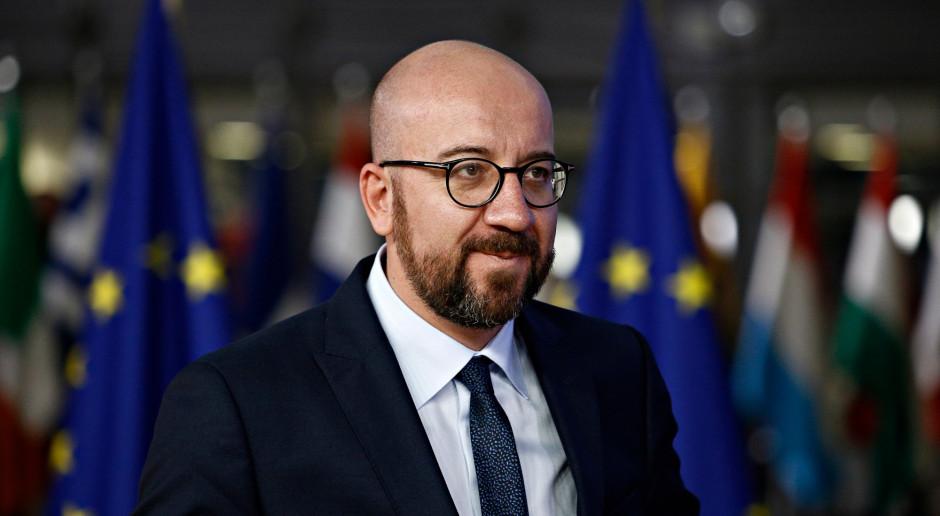 Charles Michel usłyszał od delegacji PE, że jego propozycja ws. budżetu nie przejdzie