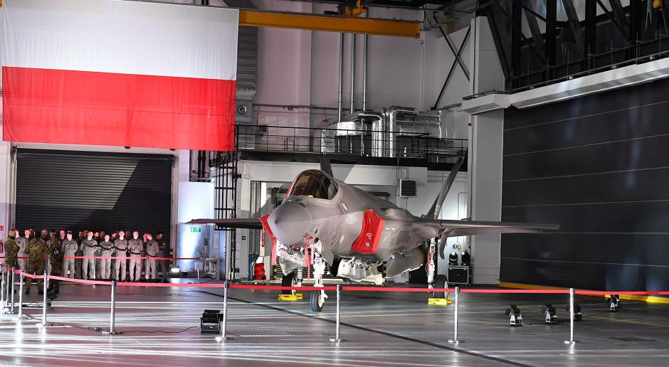 Lockheed Martin: F-35 daje możliwości współpracy z polskim przemysłem