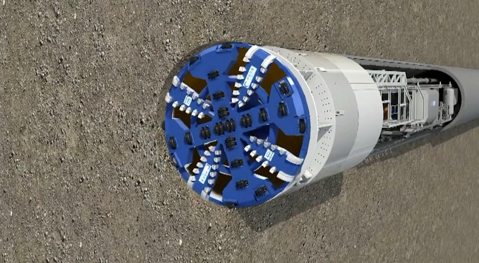 Ogromna maszyna wydrąży tunel w Świnoujściu. Zobacz wideo