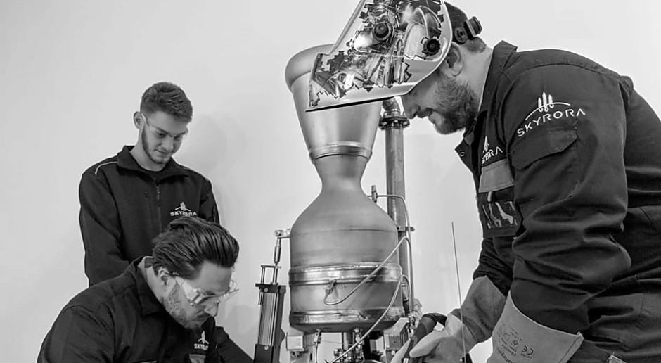 Szkocki start-up zbudował rakietę z silnikiem z drukarki 3D