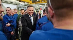 Prezydent Andrzej Duda odwiedził PZL-Świdnik