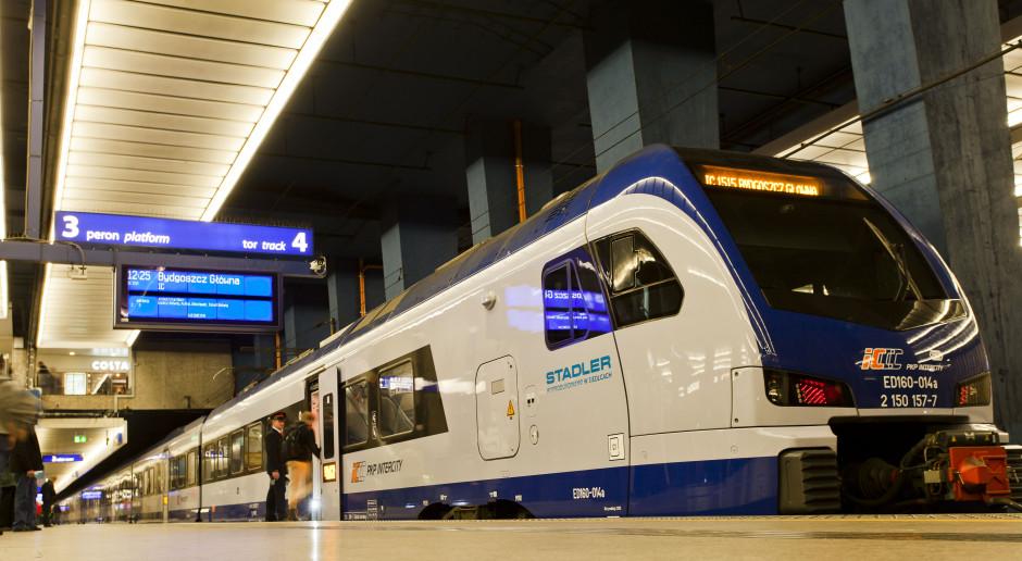 PKP Intercity: wracają pociągi, pod koniec czerwca dostępnych będzie ponad 400 składów przewoźnika