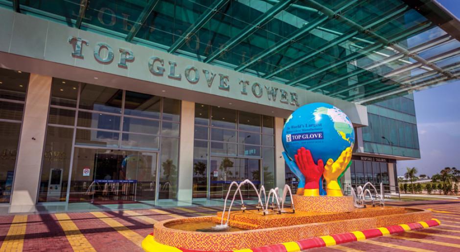 Największy producent gumowych rękawiczek zyskuje na epidemii koronawirusa