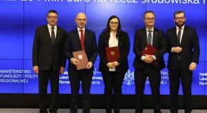 160 mln euro z na rzecz środowiska i klimatu. Będą trzy nabory wniosków