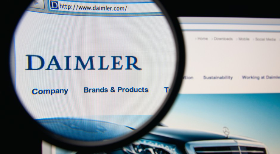 Daimler nie ma dobrych wieści dla udziałowców. 11 mln straty w czwartym kwartale