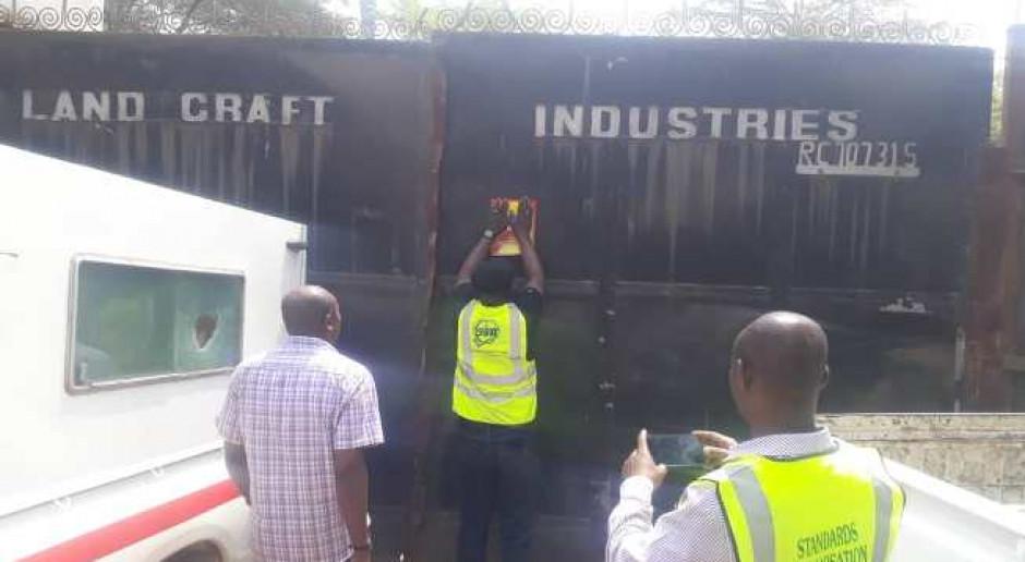 Władze Nigerii zamknęły 13 zbrojarni ze względu na niską jakość stali