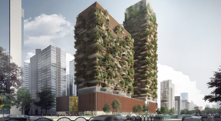 Pionowe lasy w mieście pomogą w walce ze smogiem?