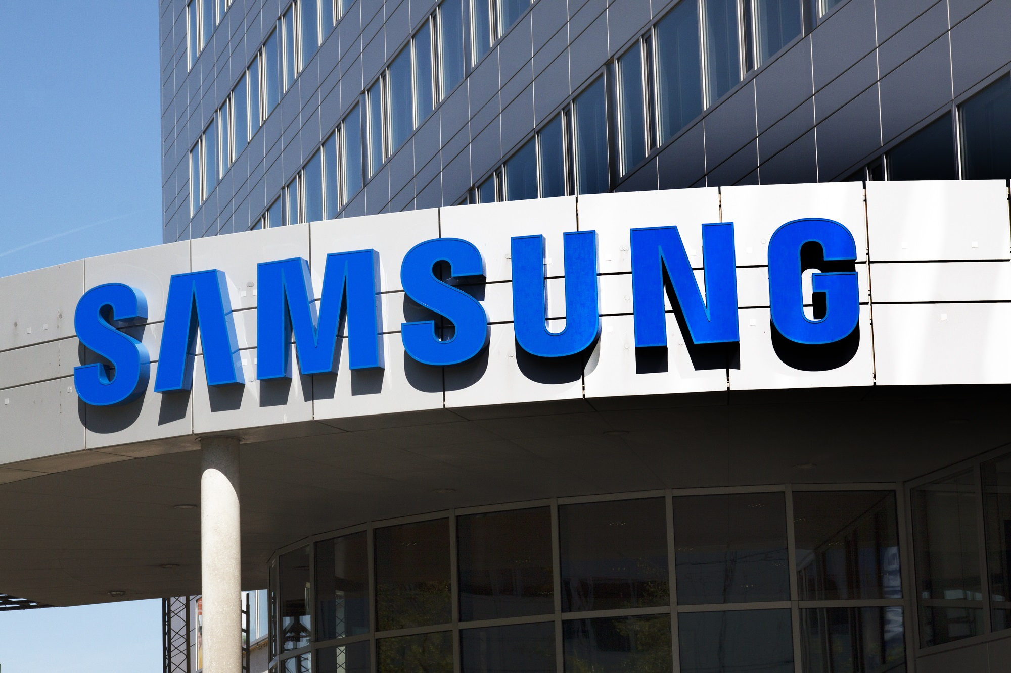 Marka Samsung w 2020 roku zajęła piątą pozycję w rankingu najbardziej wartościowych marek na świecie, zaraz po Amazonie, Google, Apple i Microsoft. Fot shutterstock