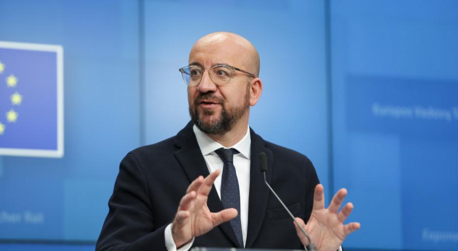 Szef Rady Europejskiej podtrzymał powiązanie funduszy z praworządnością