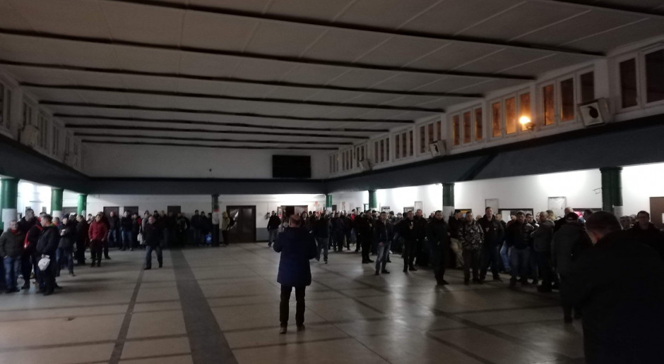Dwugodzinny strajk ostrzegawczy w kopalniach Polskiej Grupy Górniczej