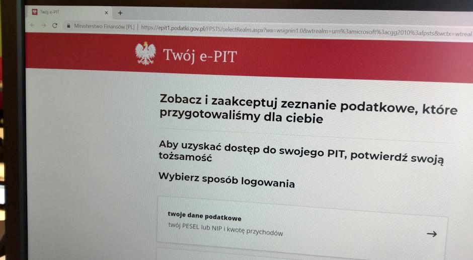 Twój e-PIT. Ministerstwo Finansów i KAS ostrzegają przed fałszywymi e-mailami