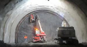 336 metrów pozostało do wydrążenia na wylot drugiej nitki tunelu Zakopianki
