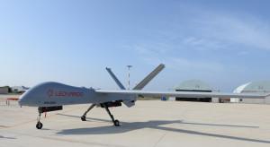 Największy dron Leonardo wykonał swój pierwszy lot