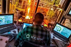 Nowo otwarte centrum analityczne KGHM analizuje miliardy danych