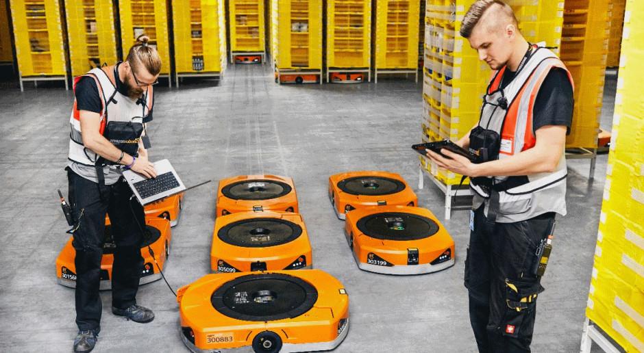 Roboty w magazynach Amazona zwiększają liczbę wypadków przy pracy