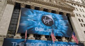 Virgin Galactic zbiera zapisy na loty w kosmos