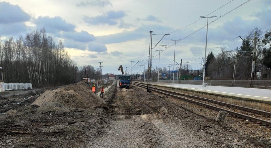 PLK rozpoczęły modernizację stacji Łódź Żabieniec i Zgierz