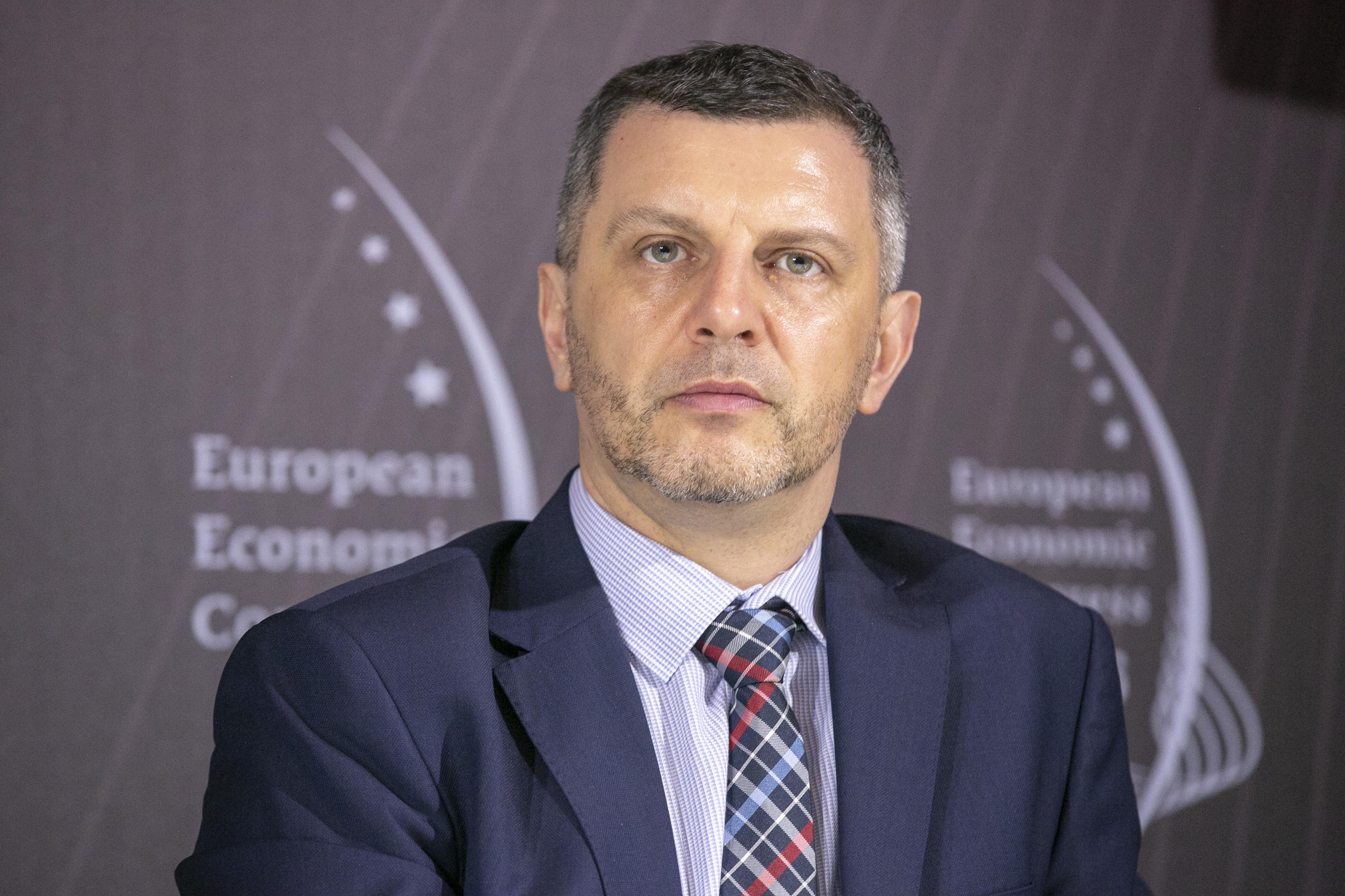 Piotr Zawistowski, prezes zarządu Towarowej Giełdy Energii ( Fot. PTWP)
