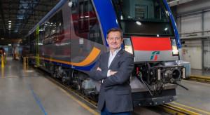 Prezes Pesy zapowiada lokomotywę na wodór jeszcze w tym roku