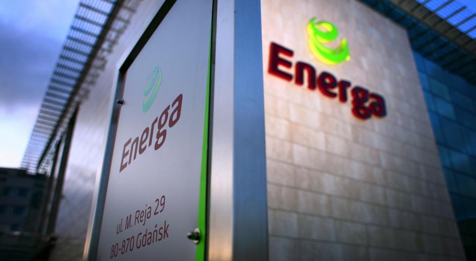 Protest pracowników spółki z grupy Energa - obawiają się zmian organizacyjnych
