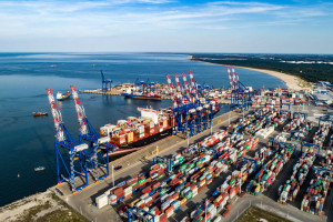 Dobre wyniki DCT Gdańsk - w kontenerach najlepsze na Bałtyku