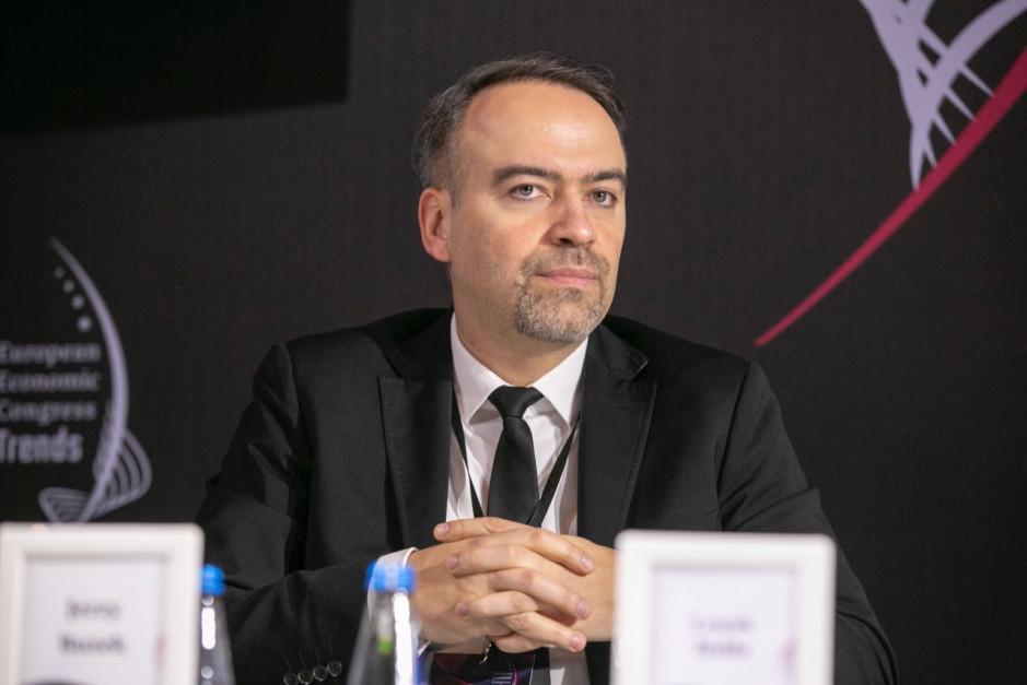 Leszek Hołda, członek zarządu PKP Energetyka. Fot. PTWP
