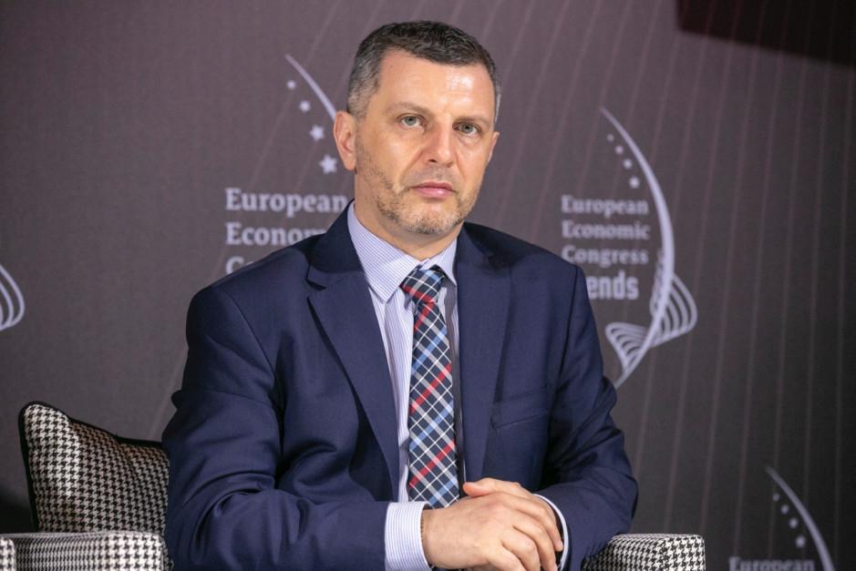 Piotr Zawistowski, prezes zarządu Towarowej Giełdy Energii. Fot. PTWP