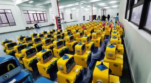 Producent robotów mierzących temperaturę zwiększa sprzedaż dziesięciokrotnie